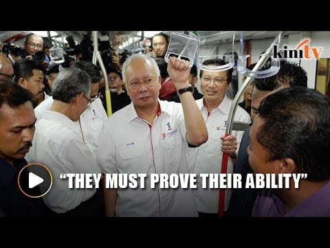 Najib: Bumiputera companies to get 45% of LRT 3 project contracts