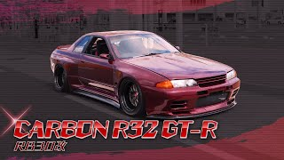 "NA sound explosion! The story that the old GT-R will be reborn as ""CARBON R32 GT-R RB30 Kai 3.1L"""