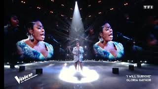 Verushka_-_I Will Survive.The voice france 2020