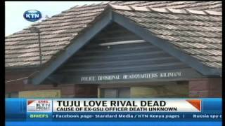 Tuju's wife's 'lover' Tony Ogunda found dead.