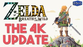 The Legend of Zelda Breath of the Wild | 4K 60-100 FPS Now Possible [Cemu 1.15.2 Gameplay]