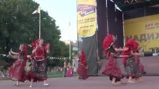 Vedalife. Индийские танцы от школы ''Шелковый путь'' (2.08.2014)
