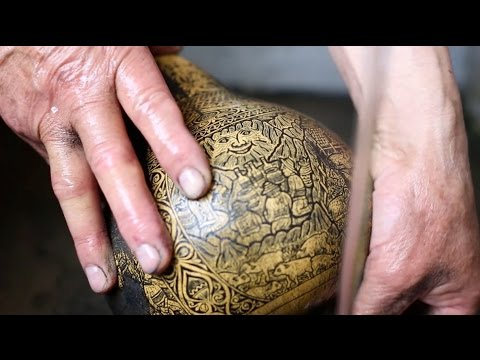 how to make a mate gourd