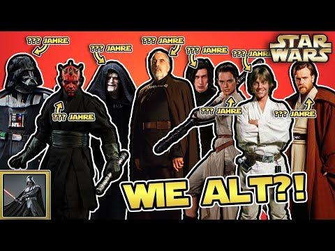 Star Wars: Wie alt sind die Star Wars Charaktere?