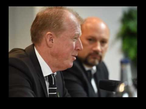 Steve McClaren appears at his first Derby County press conference