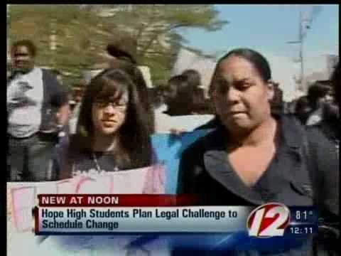 Providence Hope High students file lawsuit over schedule