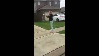Crazy mom fights her sons bullies