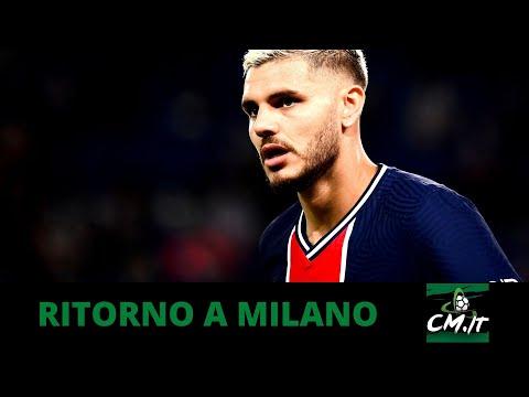 Calciomercato Inter, il Milan potrebbe riportare ICARDI in Italia!