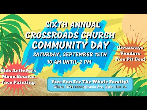 Crossroads Community Day 2018