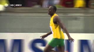 Усэйн Болт 100м за 9,58 мировой рекорд 16.08.2009(16 августа 2009 года на чемпионате мира в Берлине на 11 сотых секунды улучшил свой же мировой рекорд в беге на..., 2011-04-25T10:27:43.000Z)