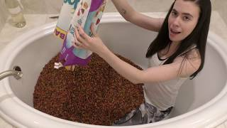 CAT FOOD BATH PUNISHMENT!!!