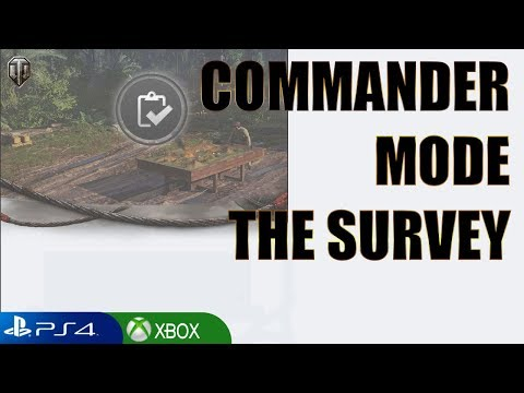 This is what I said - Commander Mode SURVEY -World of Tanks Console thumbnail
