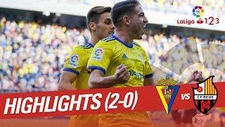Resumen de Cádiz CF vs CF Reus (2-0)