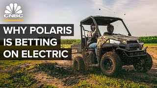 Leading Off-Road Maker Polaris's Risky Bet On Electric
