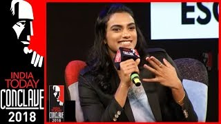 'No Phone For 8 Months': PV Sindhu on Coach's Strict Conditions | India Today Conclave 2018