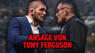 """Tony Ferguson: """"Ich werde Khabib Blut pinkeln lassen!"""""""