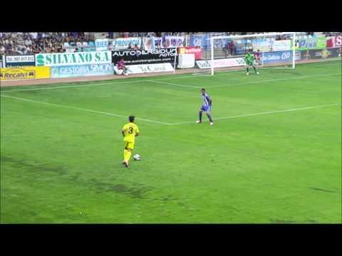 Gol de Walter Pandiani (0-1) en el SD Ponferradina - Villarreal CF Jornada 4