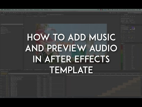 How to Add Music and Preview Audio in After Effects