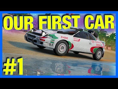 GRAVEL Let's Play : OUR FIRST CAR!! (Part 1)