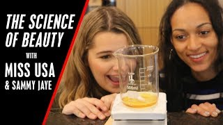 Lip Balm DIY with Sammy Jaye & Miss USA 2017 Kára McCullough   Radio Disney Resimi