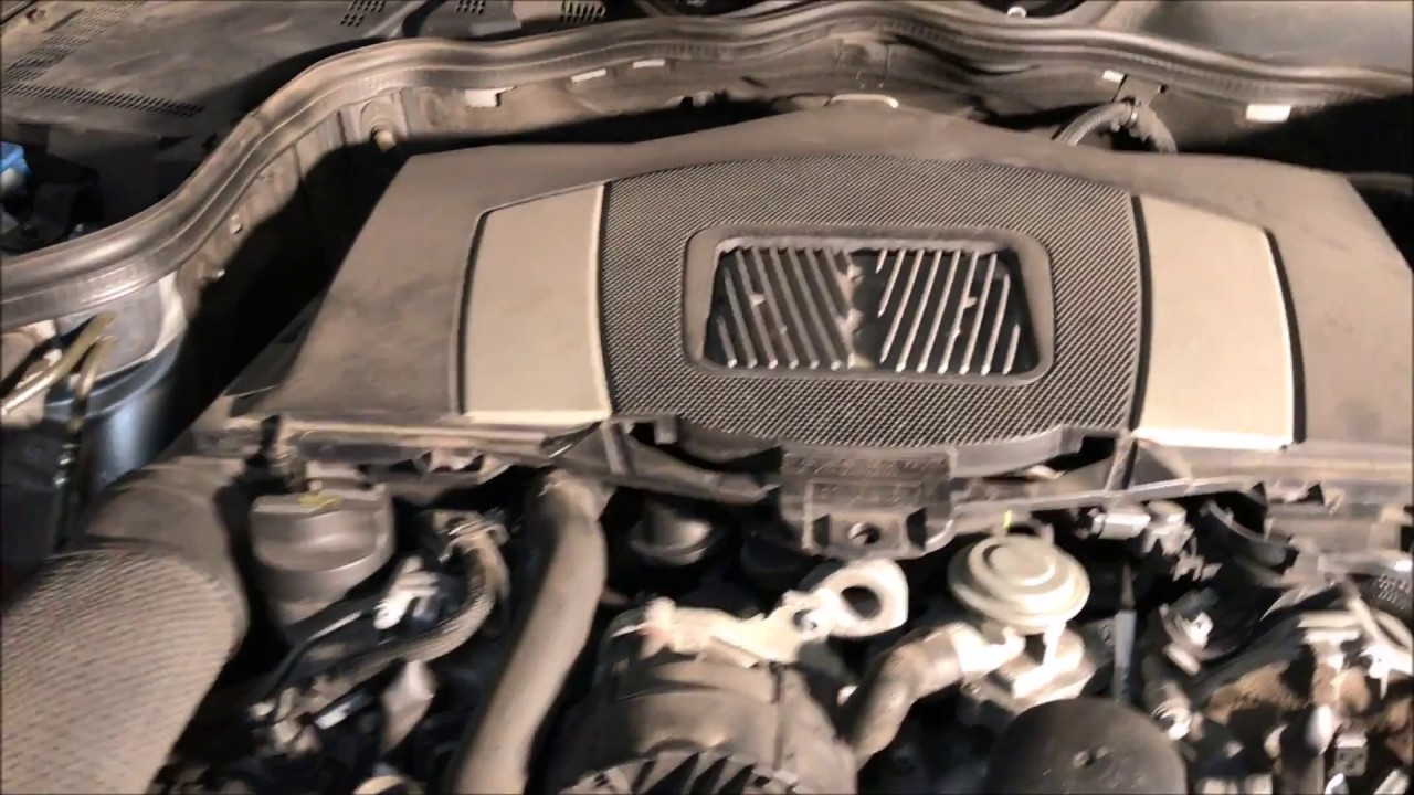 How to replace the engine filter on mercedes c or e class for Mercedes benz e350 air filter replacement