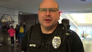 Sweet walk of shame! Dwight D Eisenhower Airport Police Wichita KS  1st amendment audit!