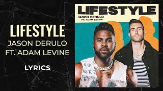 """@jason derulo """"lifestyle"""" ft. adam levine lyric videostream/download jason f/ levine: https://jasonderulo.lnk.to/lifestylejason derul..."""