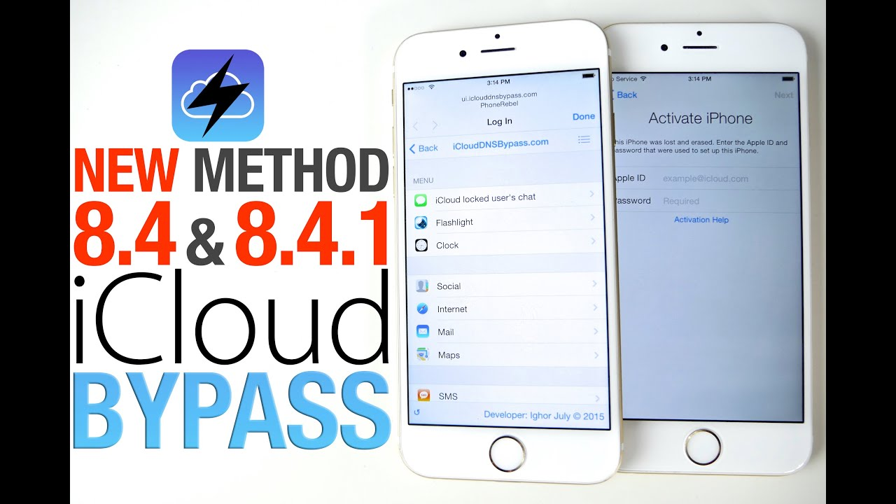 How To Bypass iCloud Activation Lock on iOS 8 4 & 8 4 1 - Updated Guide!