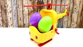 Helicopter and Surprise Eggs  Peppa Pig and Fireman Sam for Kids