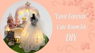 Dollhouse miniature kit- CuteRoom- Love Forever- DIY