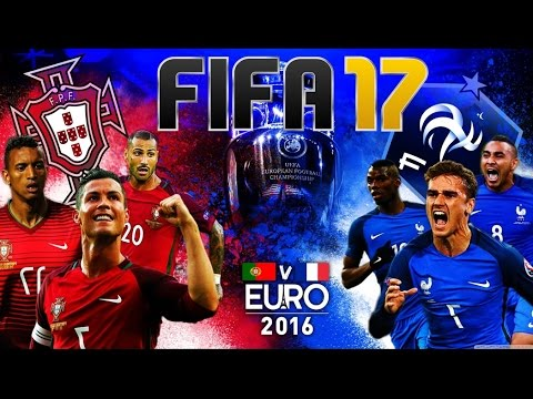 FIFA 17 - Euro 2016 : France vs Portugal (on refait l'histoire…) [FR]