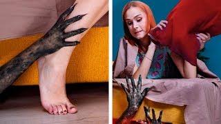 Download Как защитить себя от монстров / 13 лайфхаков для Хэллоуина Mp3 and Videos