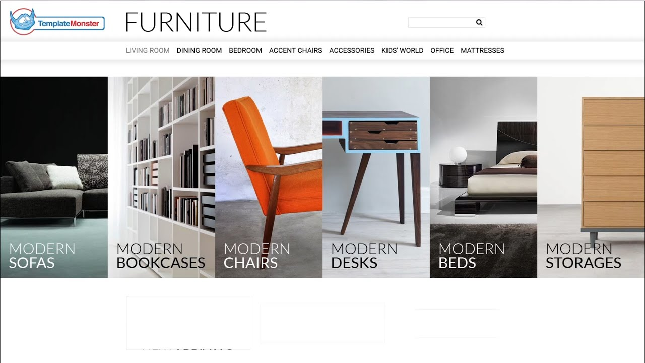 Selling Furniture line PrestaShop Theme