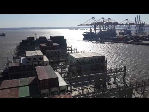 "Container Ship ""VALUE"" #EntradaAMontevideo Parte 2"
