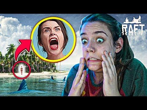 MINHA AMIGA FICOU PERDIDA NA ILHA! - Raft