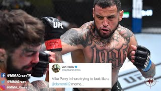 MMA Pros React To Mike Perry Dominated By Daniel Rodriguez At UFC Vegas 23