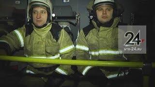 В Нижнекамске проверили, уступают ли дорогу пожарным