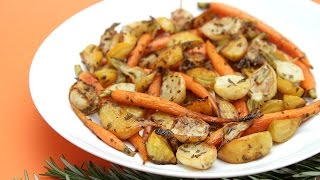 Rosemary-roasted Root Vegetables Agrodolce - A Massively Flavorful Side Dish