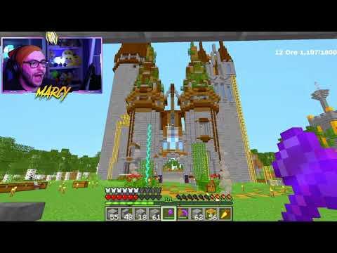 MARCY COSTRUISCE IL BIG CASTELLO nella BIG VANILLA! Minecraft ITA