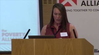 Louise Allan, Fife Gingerbread, Poverty Assembly 2014