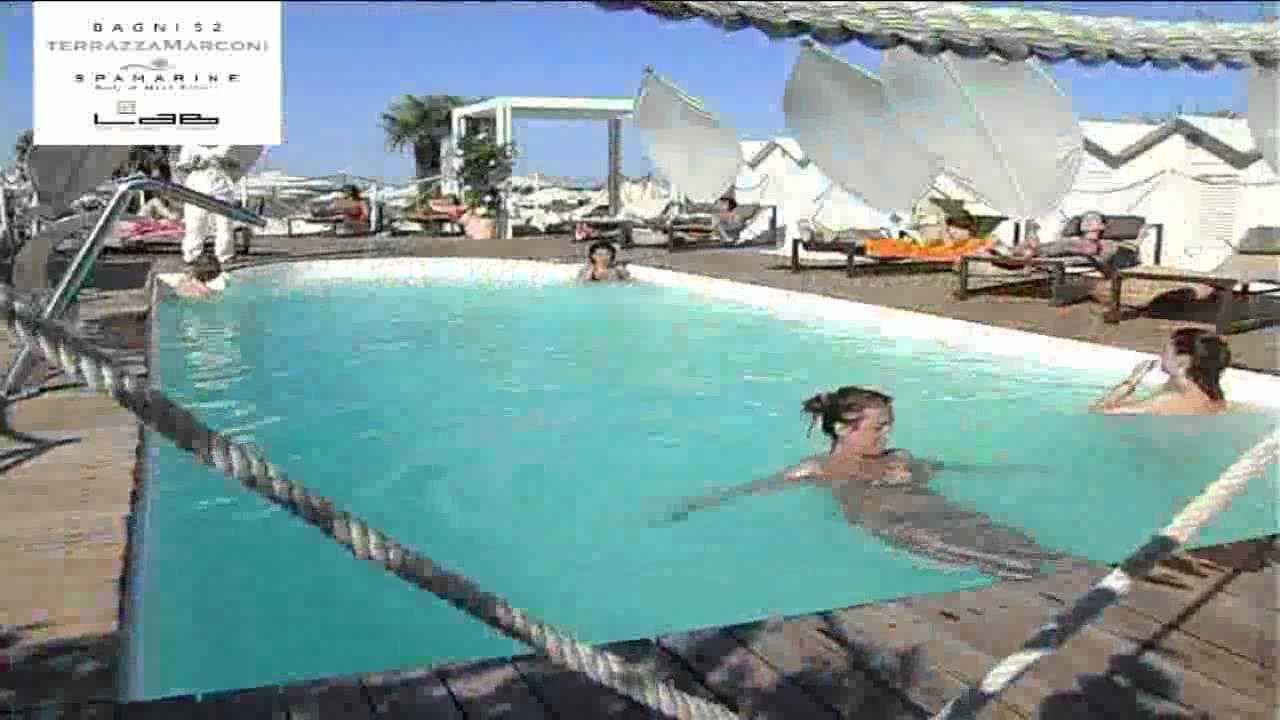 Hotel Terrazza Marconi: la spiaggia - YouTube