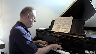Garrick Ohlsson prepares for Barber's Piano Concerto