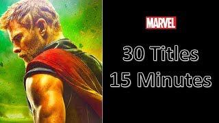 Marvel Cinematic Universe Summary - Entire MCU Recap (Movies + TV Shows) in 15 Minutes