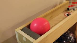 Stages of a Mini Bowling Lane #2! (Day 4)