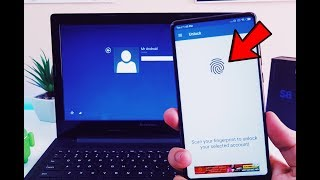 Unlock PC/Laptop Using Your Android phone Fingerprint Scanner - AWESOME Trick (NO ROOT)