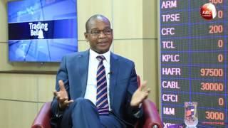 Trading Bell - Mr. Joshua Oigara, CEO, Kenya Commercial Bank (KCB)