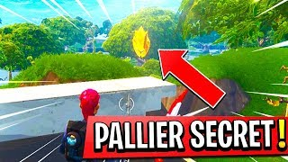 "DÉBLOQUER A PALLIER ""SECRET"" on FORTNITE: Battle Royale!"