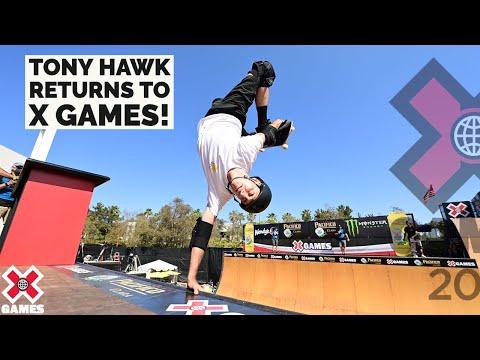 TONY HAWK RETURNS TO X GAMES | X Games 2021