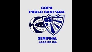 """São José 1x 2 Cruzeiro - Copa Paulo Sant""""Ana - 07/10/2017"""