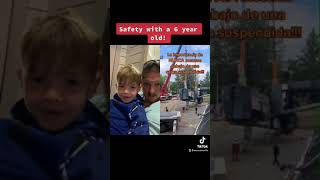 Safety with a 6 year old